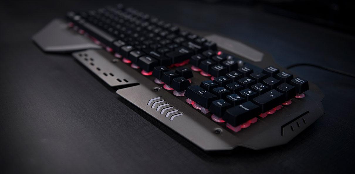 Resultado de imagen para fotos teclado trust gxt 850