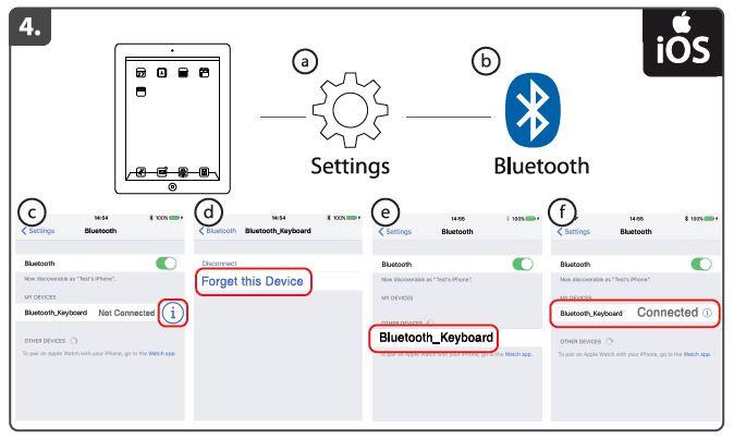 Trust com - Wireless Bluetooth Keyboard for PC, laptop